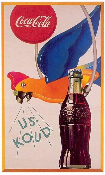 Retro coca cola ad.....