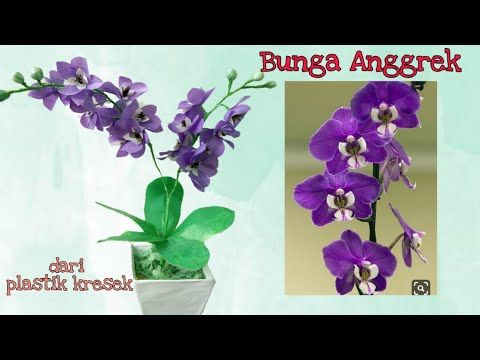 Terkeren 29 Gambar Merangkai Bunga Anggrek Plastik Diy How To Make Orchid Flower From Plastic Bags Rangkaian Bunga Anggre Di 2020 Bunga Bunga Kertas Rangkaian Bunga