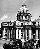 Michelangelo: Pietarin kirkko, 1546-1564, renessanssi