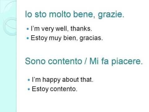 Learn Italian!  Free Italian Lesson 1!  Curso Gratis de Italiano!  http://www.marconisida.com