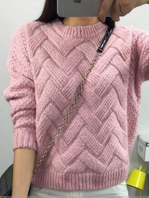 Красивый узор для пуловера / Handlife.ru - творческая жизнь!