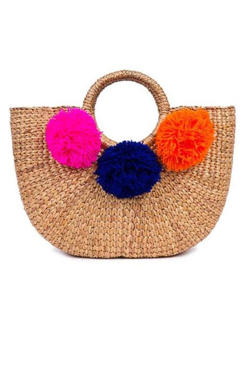 10 straw beach bags to tote on spring break: