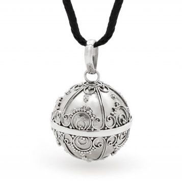 Harmony Ball - NOBLE - Bella Donna Sterling Silver