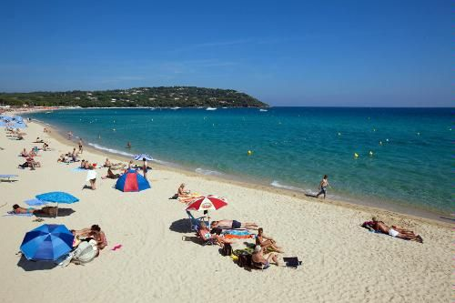 French Riviera's Best Beaches: 5 Med Escapes -   Plage de Pampelonne, St-Tropez    St-Tropez's public image was forged and burnished on this 9km stretch of white sand. A galaxy of stars have bronzed their busts and butts to perfection on this beach, and the mega-wealthy and -famous continue reserving places in the exclusive beach clubs. Certain stretches are reserved for nudists. Gays and families also have their own designated areas.    Photo Caption: Pampelonne Beach of St-Tropez, France.
