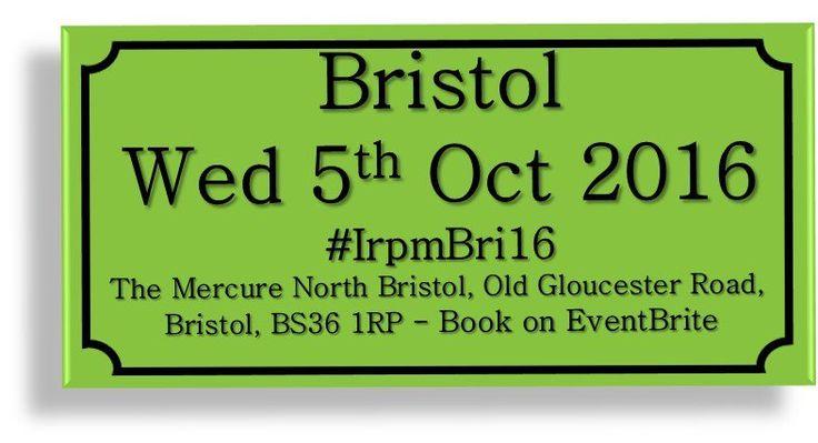 Bristol Regional @OsborneClarke @ArdenChambers @PlainEngCam @NickBasra @sambrady #IrpmBri16 http://buff.ly/2aITt6H