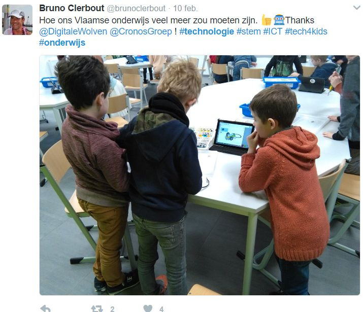 Communication, Collaboration, Creativity and problem solving, Critical Thinking Twitter #Onderwijs #Technologie