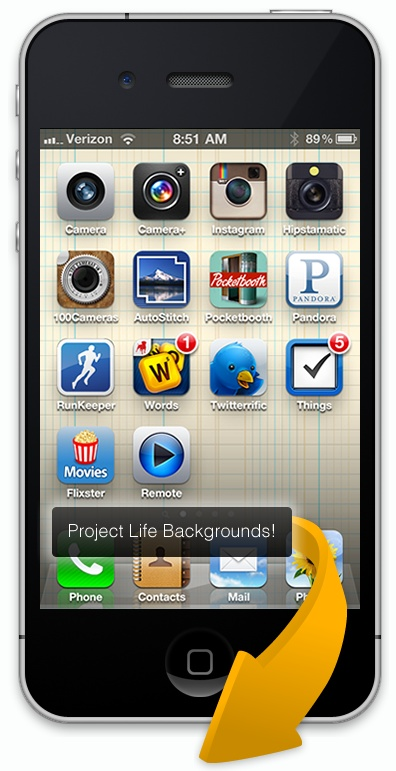 Becky Higgins favorite iPhone apps & backgrounds