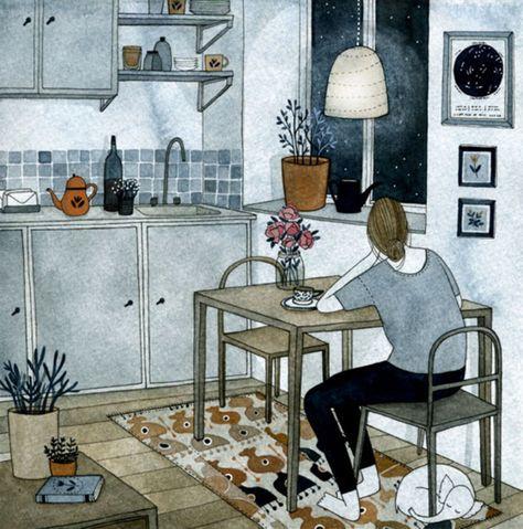 Flora Wiström » Inspiration: Yelena Bruksenkova.