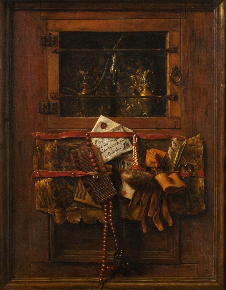 Samuel van Hoogstraten (1627 – 1678 ) Still Life with a ...