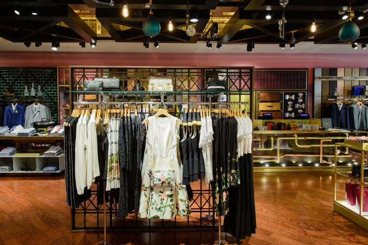 Ted Baker store by FormRoom Ottowa  Canada