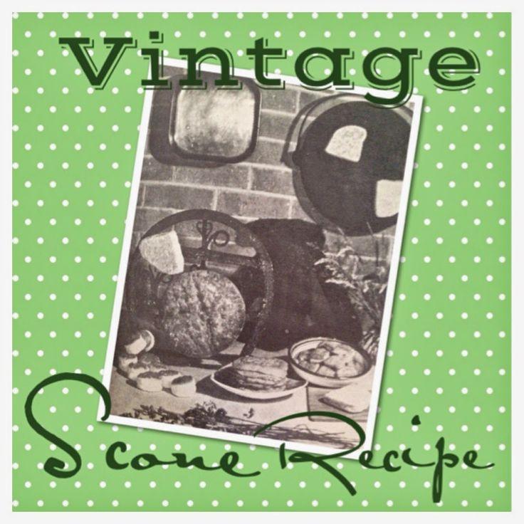 Vintage Recipe