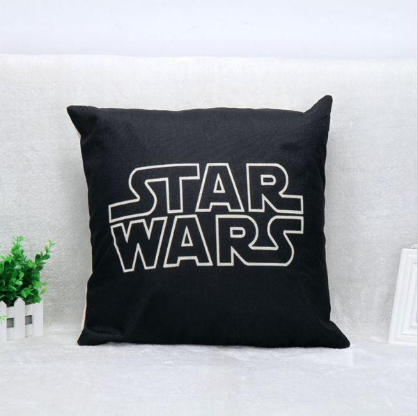 K-waii - Cojín Black Star Wars http://www.regalitolindo.cl/product/138359/cojin-black-star-wars