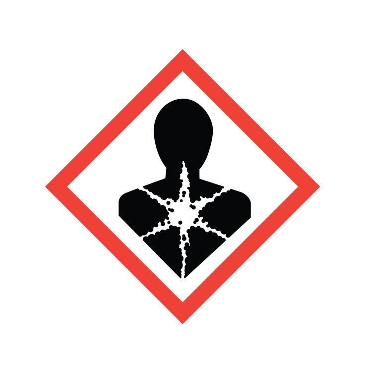 long term health hazard symbol | Hazard symbol, Chemical ...