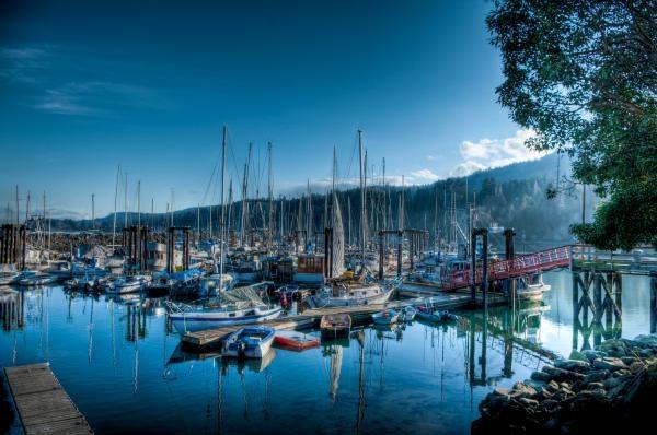 Ganges Harbor, Salt Spring Island BC