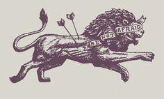 geometric lion tattoo - Google Search                                                                                                                                                     More