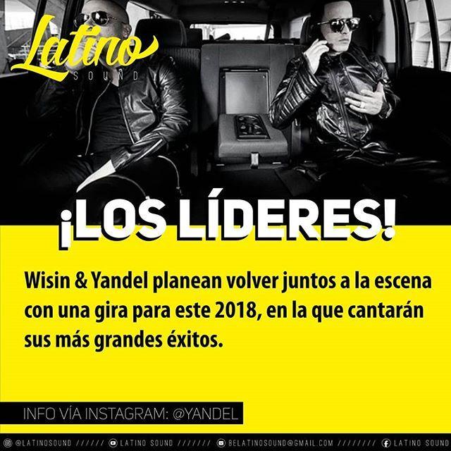 Reposting @latinosound: ¡NOTICIA! El Duo de la Historia @wisin @yandel volverán @wisinyyandel se paralizara el genero, la industria, TODO, no hace falta decir mas nada!  #LatinoSound #latino #latinos #latina #Music #Musica #pr #usa #artist #singer #single #sing #song