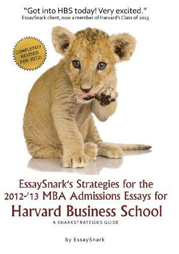 Successful Harvard Business School Application Essays Second Edition Pdf image