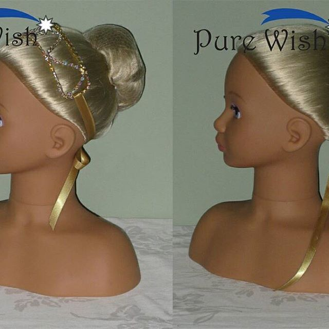 """FOR SALE - AU$45 +shipping  Rhinestone Bun / Head bands  This versatile piece is flexible and strong and can be secured with a ribbon as shown or pinned to the hair without the ribbon.  Each Rhinestone Bun Wrap / Headband is 18cm (7"""") long and 3.5cm (1.5"""") wide and is sealed with a clear rubber coating on the back for comfort.  The Rhinestone Bun Wrap / Headband can be used for dance or a special occasion and comes with a coordinating satin ribbon tie.  Visit our Etsy store to purchase…"""