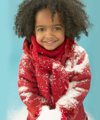 Baby It's Cold Outside: Winter Curly Hair Routine for Your Little One