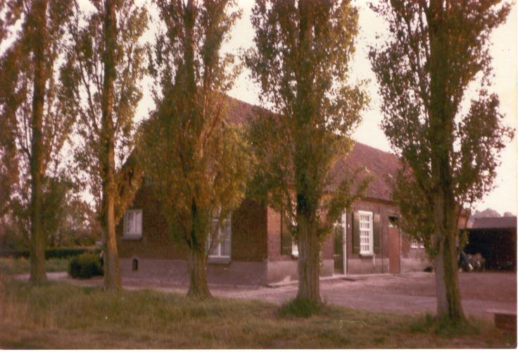 Geboortehuis  van mijn vader Sengersbroekweg van de Fam. Wijnen - Sauvè.