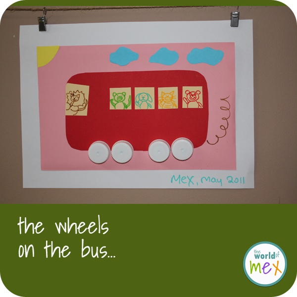 The wheels on the bus...