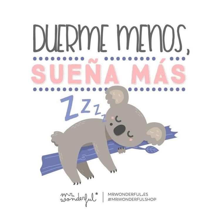 ¡Feliz noche y dulces sueños! #mrwonderful