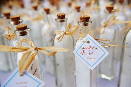 Click Pic For 26 Diy Beach Wedding Ideas Bottles Of Rosemary Sea Salt Favors Theme Decorations My Dream Pinterest