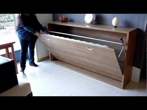 35 best images about camas abatibles on pinterest diy for Cama mueble ikea