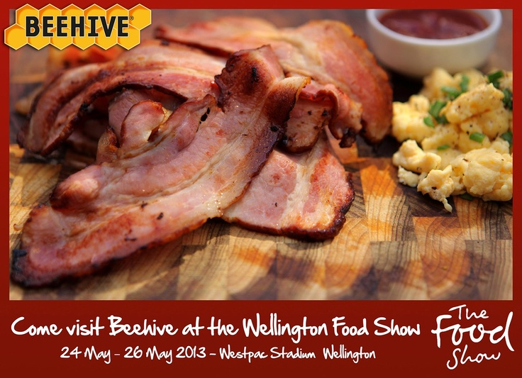 We'll be at the Wellington Food Show. 24th-26th May 2013