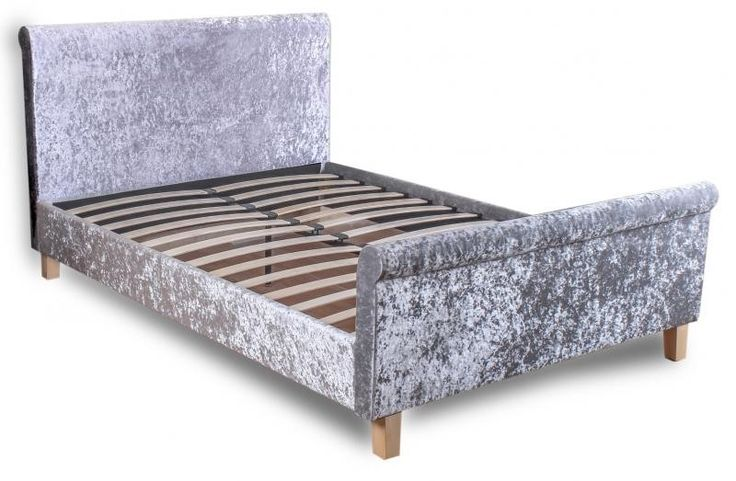 The Shelby Double Bed is a Grey crushed velvet bed with a fantastic price and next day delivery available - http://www.furn-on.com/shelby-crushed-velvet-double-bed.html
