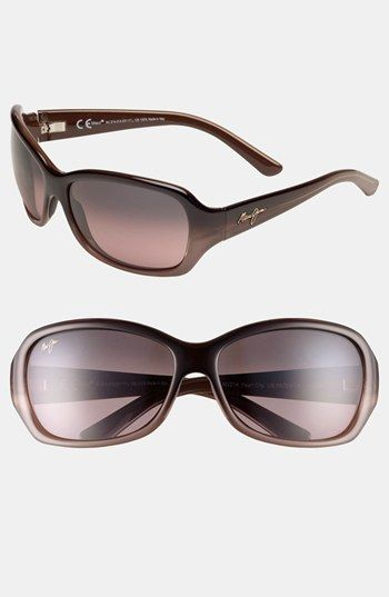 Free shipping and returns on Maui Jim 'Pearl City' 63mm Sunglasses at Nordstrom.com. Lightweight sport frames are lined with a contrast color and feature MauiGradient™ lenses to provide color-boosting benefits while eradicating 99% of glare.