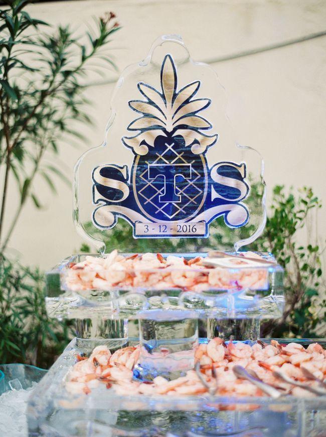 Navy and white destination Wedding in Delray Beach