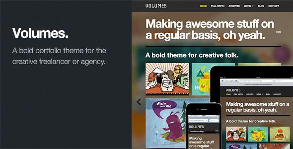 Volumes: Responsive Portfolio WordPress Theme
