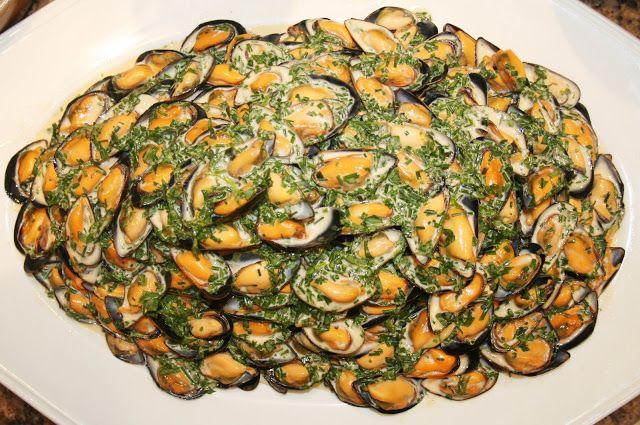 La Cuisine de Bernard: Le Buisson de Moules à l'Estragon