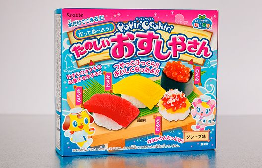 Kracie Popin' Cookin' Sushi Tutorial + Taste Test [Soft ...