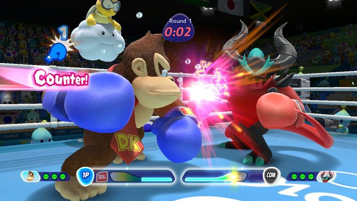 Boxing - Mario and Sonic at the Rio 2016 Olympic Games