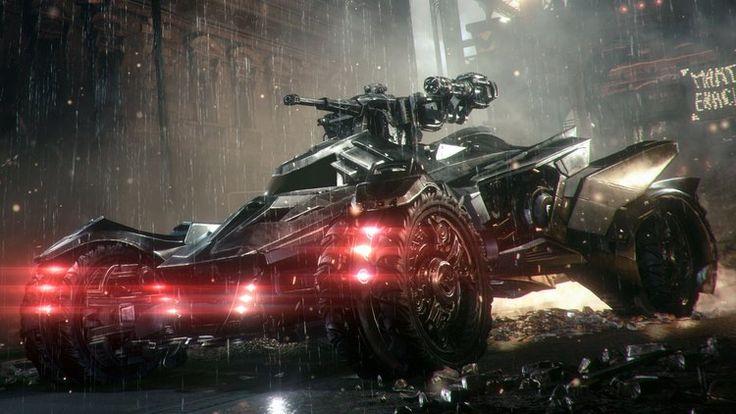 BATMAN: ARKHAM KNIGHT — Batmobile's Pursuit and Battle Modes Explained — GeekTyrant