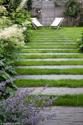 Un jardin à Boulogne Billancourt | Christian Fournet Paysagiste …