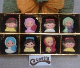 Coklat Jilbab & Peci