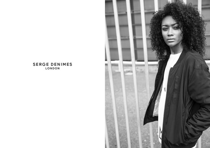 Cheyenne Carty - Serge Denimes AW14 Campaign Lookbook I The Eye Model Scout