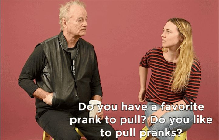 Bill Murray Came To BuzzFeed And Gave Us Some Damn Good Life Advice