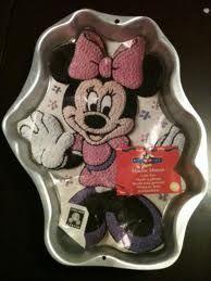 Minnie Mouse Wilton Cake Pans