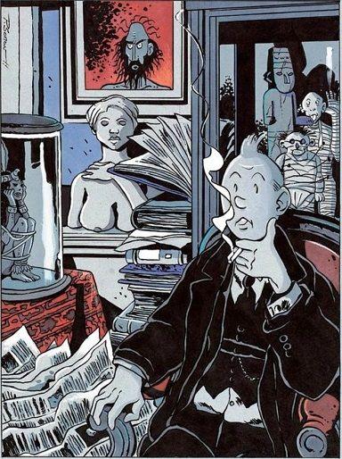 Somon, Tintin chez Tardi