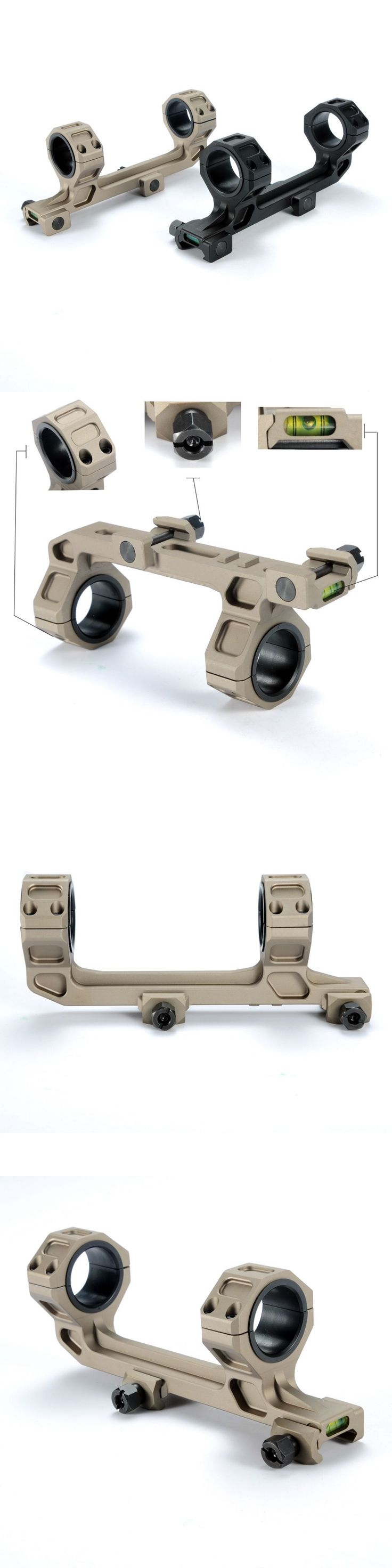 Scope Mounts and Accessories 52510: ( Gbo ) Scope Mount 30Mm / 1 Inch Rings One Piece W Bubble Level Picatinny Rails BUY IT NOW ONLY: $34.95