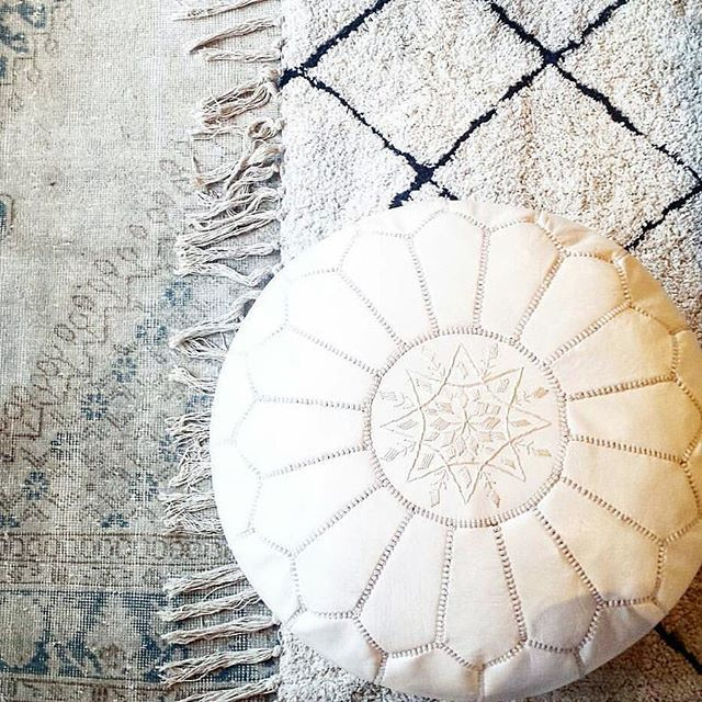 GIVEAWAY TIME!!! Juat a few days left!!!! We have teamed up with one of our friends @ginabourne to give away one of our highly coveted white Moroccan Leather Poufs.  To enter, all you have to do is: 1.Follow us@latelierhomedesign 2.Follow @ginabourne 3.Tag at least 2 friends in the comments below. 4. Make sure you follow BOTH accounts otherwise it is not considered an entry. Feel free to tag as many friends as you'd like! ✅Each one counts as an entry. Enter as often as you like. Contest…