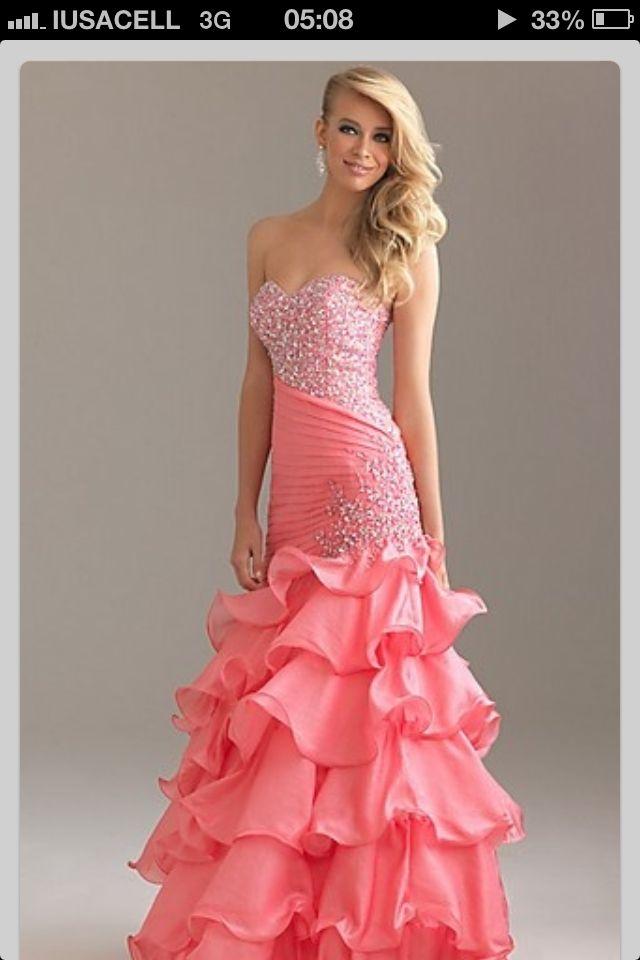 Mejores 32 imágenes de vestidos de ceremonia en Pinterest | Vestidos ...