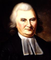 John Knox Witherspoon a Scots Presbyterian minister and a signatory of the United States Declaration of Independence, president of the College of New Jersey (now Princeton University).  Homeschooled.