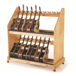 Wenger S Mobile Guitar Storage Rack A Beautiful Way To