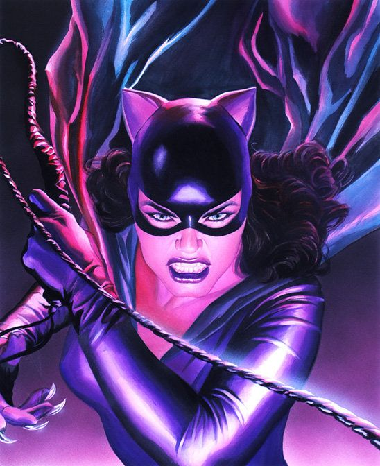 Catwoman by Alex Ross.
