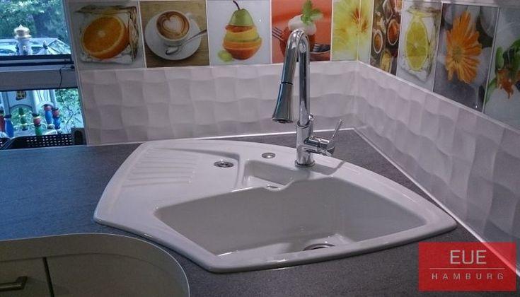 die besten 25 ecksp le ideen auf pinterest kleine k chensp le sp le wasserh hne und blaue. Black Bedroom Furniture Sets. Home Design Ideas